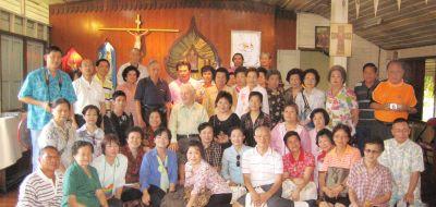 กรุ๊ปคณะคาทอลิก แห่งประเทศไทย แสวงบุญลาวใต้
